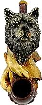 Wolf Head Smoking Pipe - Handmade Tobacco Pipe - Hand Pipe - Smoking Bowl - Collectible - Spirit Animal - Totem -Wildlife - Southwest Wolves