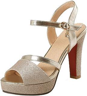 0d11fd17a85 Amazon.es: sandalias tacon - 34 / Zapatos para mujer / Zapatos ...