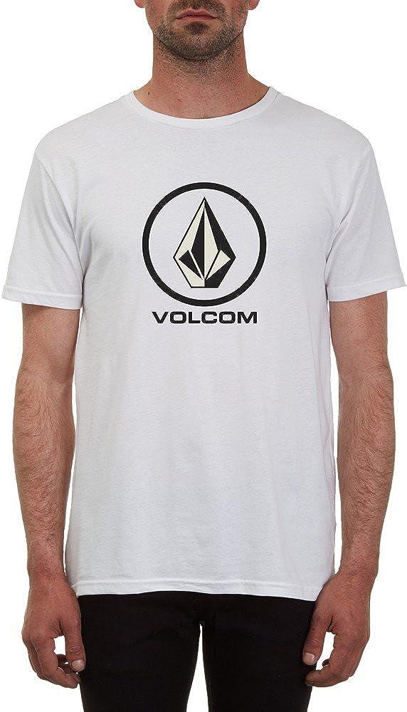 Volcom Stone Circle Basic Blanco Camiseta de: Amazon.es: Ropa ...