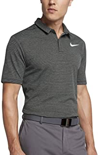 Nike AeroReact Stripe OLC Golf Polo Black/White Small