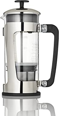 ESPRO P5 Double Micro-Filtered Coffee French Press, 32 Ounce, Polished Stainless Steel