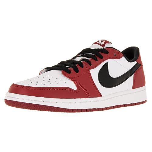 87864657e7f Nike Jordan Men s Air Jordan 1 Retro Low Og Varsity Red Black White  Basketball