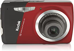 Kodak Easyshare M530 12 MP Digital Camera with 3x Wide Angle Optical Zoom and 2.7-Inch LCD (Red)