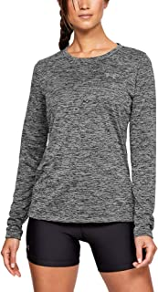 Womens Tech Twist Crew Long Sleeve Shir