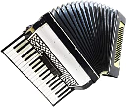 Folk Russian Piano Accordion, 80 Bass, Folk Keyboard Accordian, New Straps, 1178, Used Instrument for Sale, Bright and Quality sound!