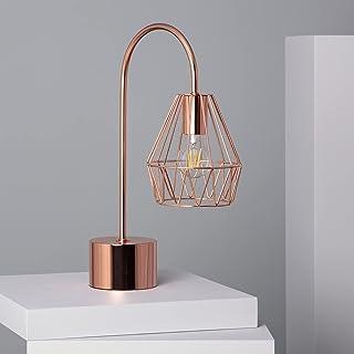 LEDKIA LIGHTING Lampe à Poser Fugalaau 465x320x165 mm Cuivre E27 Aluminium pour Décoration Salon, Chambre, Cuisine