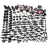 Feleph Swat Military Toys Police Bricks Toy Guns Accessories Army Gear Pack Policeman Weapons Figures Vehicle Building Blocks for Boys