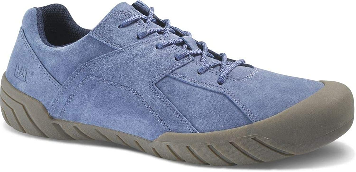 Caterpillar CAT Haycox P723201 Leather Sneakers Casual Trainers shoes Mens New P723201 Vintage Indigo