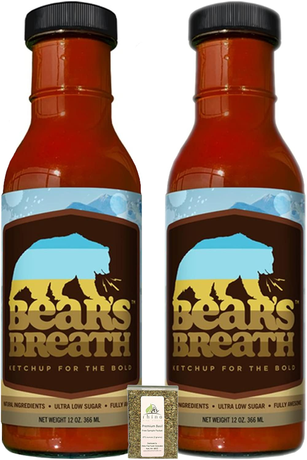 Bear's Breath Ketchup For NEW before selling The Bold Spicy Bearly Savory