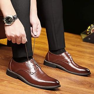 Jelinda 革靴 メンズ カジュアルシューズ レザーシューズ マーチンシューズ レースアップ ローカット 紳士靴 通気性 軽量 快適 柔らかい ビジネスシューズ 通勤 紳士靴 本革