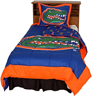 Florida Reversible Comforter Set - Twin by College Covers