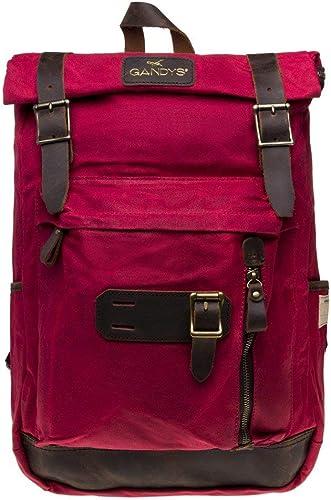 nueva gama alta exclusiva Gandys Bali Hombre Hombre Hombre Backpack rojo  solo cómpralo
