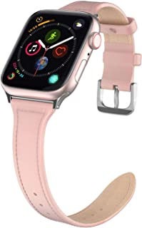 Jwacct Compatible For Apple Watch Band With Screen Protector