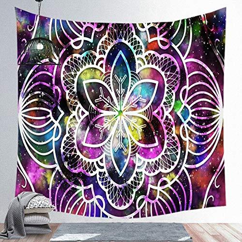 Tapiz de flores para colgar en la pared, impresión HD, exquisita, tela de fondo para sala de estar, dormitorio, decoración del hogar, A11, 200 x 150 cm