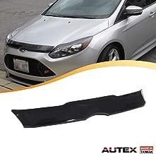 AUTEX Hood Shields Bug Deflector Compatible with Ford Focus 2012 2013 2014 Hood Protector Deflector