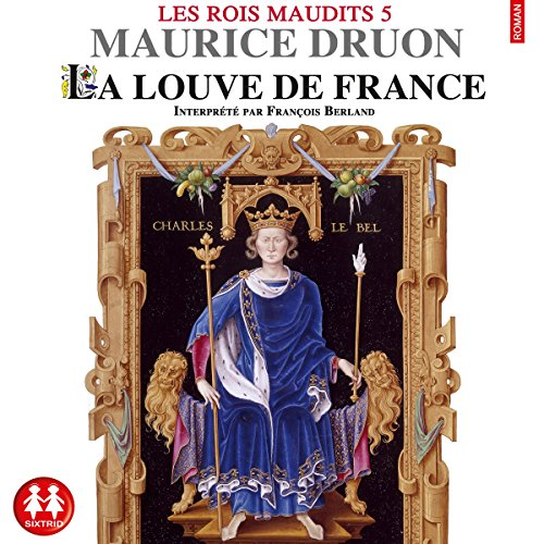 La louve de France audiobook cover art