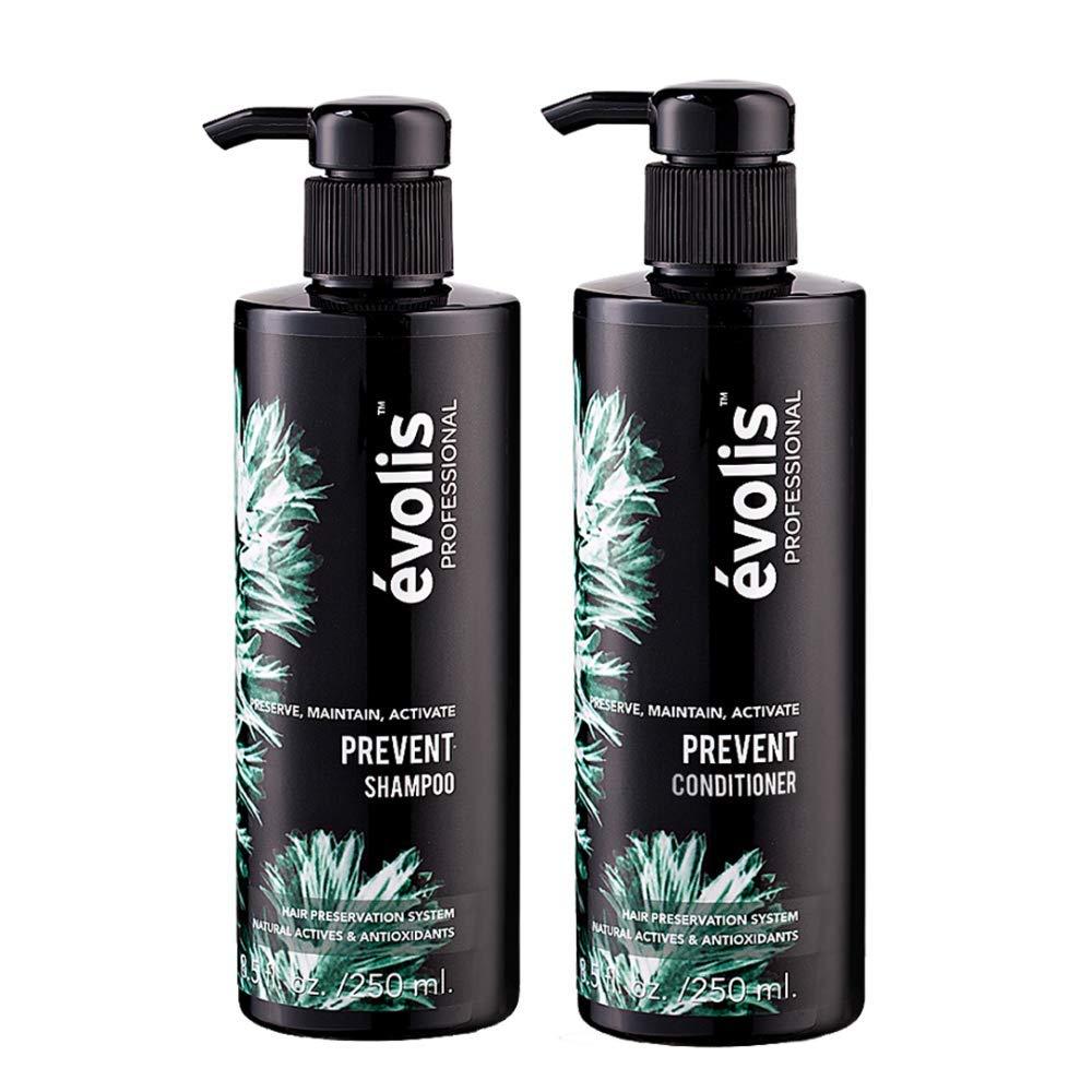 évolis PREVENT Shampoo Conditioner Direct stock discount - Los Anti Hair Loss Fashionable