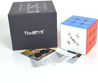 FunnyGoo VALK 3 Cubo mágico Valk3 Cubo Rompecabezas mágico 3x3x3 + Soporte de un Cubo y una Bolsa Cubo ( sin Pegatinas )