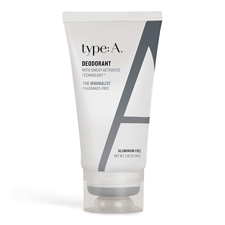 type:A Deodorant - Natural Active Ingredients, Aluminum Free Deodorants, Safe Non-Toxic Paraben Free, Non-Irritating, Clothing-Friendly, Cruelty-Free, Travel-Friendly