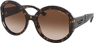 نظارة شمسية من برادا PR 22 XS 2AU6S1 هافانا