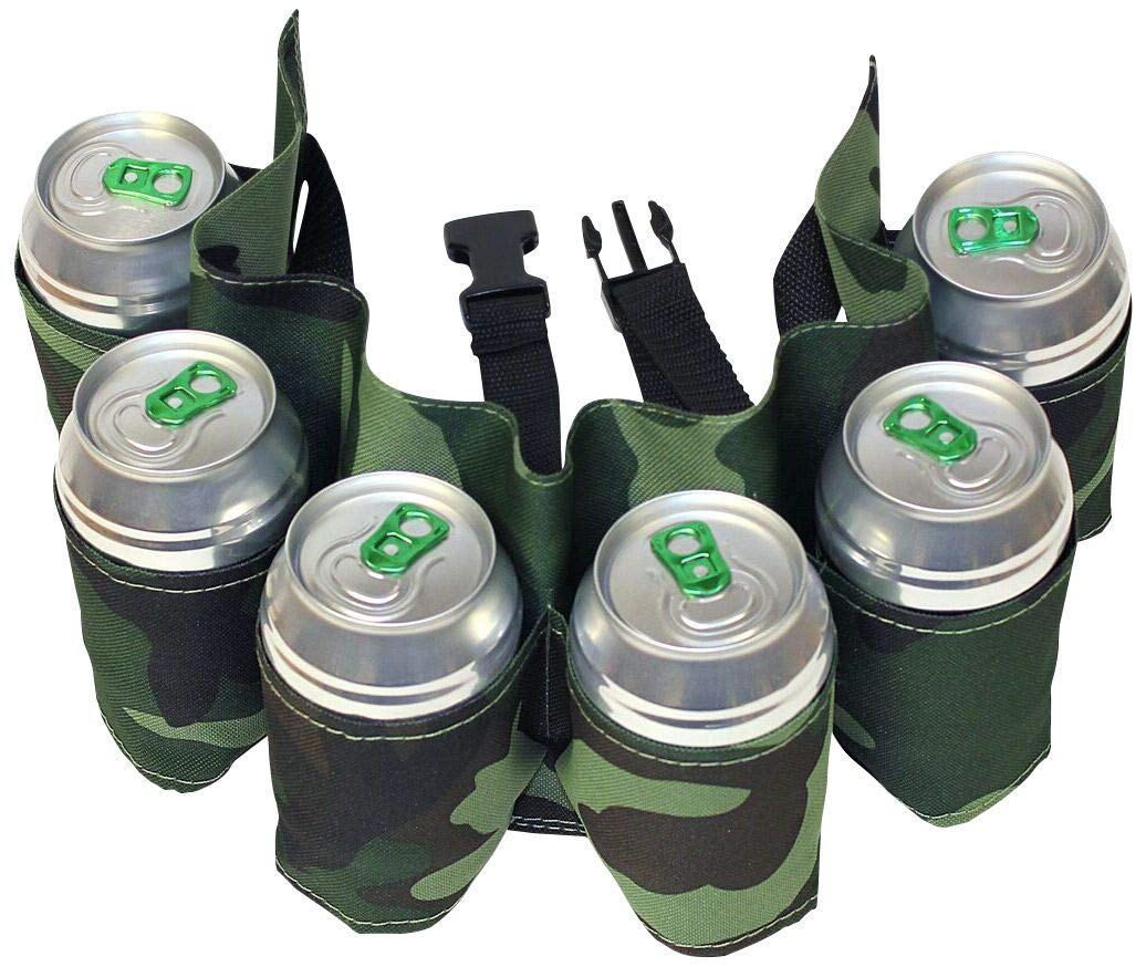 The Ultimate Six Pack Beer Belt: Amazon.es: Deportes y aire libre