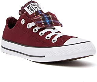 Converse Women's Chuck Taylor Double Tongue Oxford Sneaker Shoes