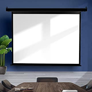 """100"""" Inch Projector Screen Electric Motorised Projection Retractable 3D Cinema Type D"""