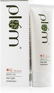 Plum Green Tea Day-Light Sunscreen Spf 35 Pa+++, 50 ml, for Oily & Ance Prone Skin, Vegan Skin Care