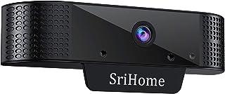 H+Y Cámara Web 1080P con Micrófono Computadora Portátil PC de Escritorio Webcam Full HD para Videoconferencia Estudios Conferencias Grabación