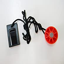 ICON Treadmill Key 1 Round Red Magnet