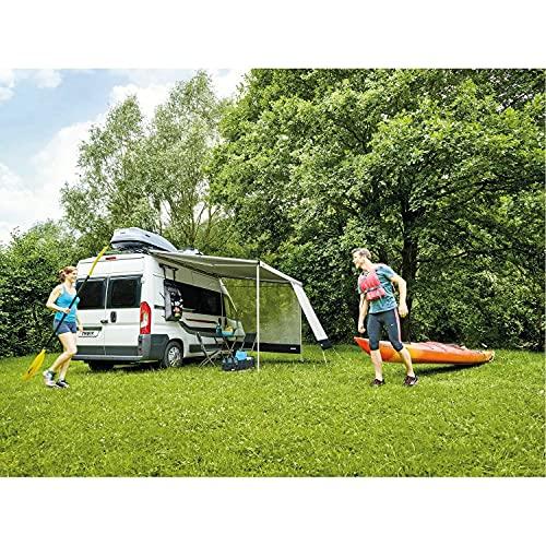 Thule Sun Blocker G2 Seitenwand Large 3,00 Sonnenschutz Wohnwagen Camping Sichtschutz Markise grau