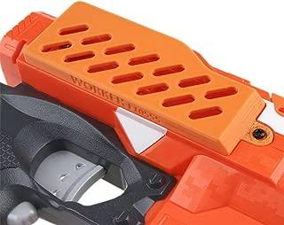 Worker F10555 3D Printing Extended Battery Cover for Nerf n-strike elite stryfe Color Orange