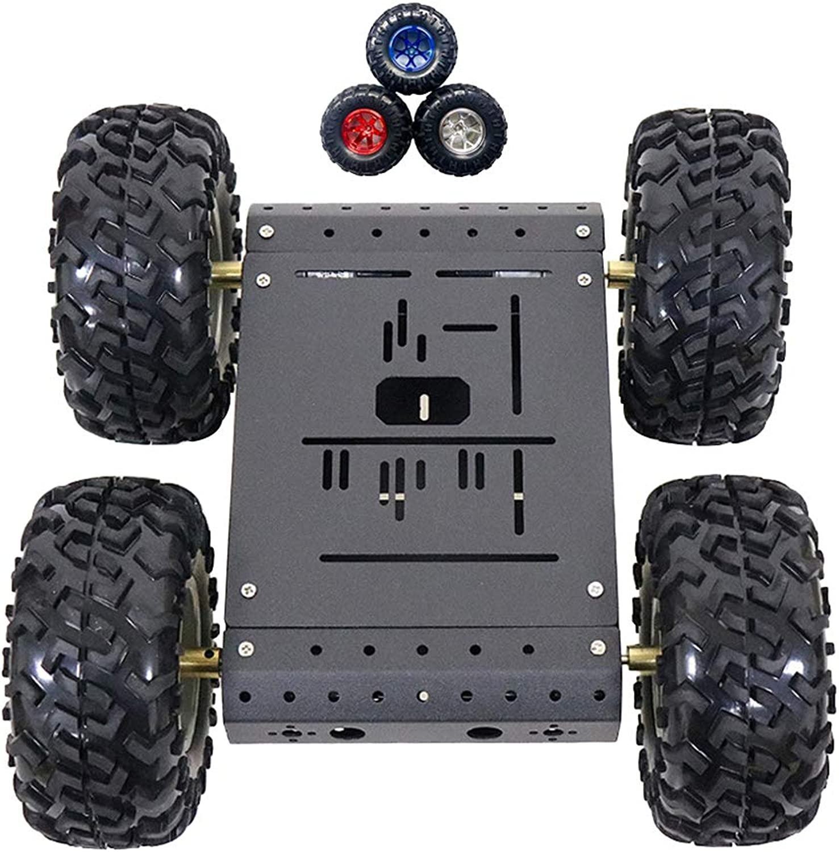 calidad garantizada B Blesiya Robot Robot Robot Tracking Tank Kit Chasis Robótico de Control Remoto Inteligente Ligero - Negro 2  autentico en linea