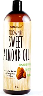 Sponsored Ad - Molivera Organics Sweet Almond Oil, 16 oz.