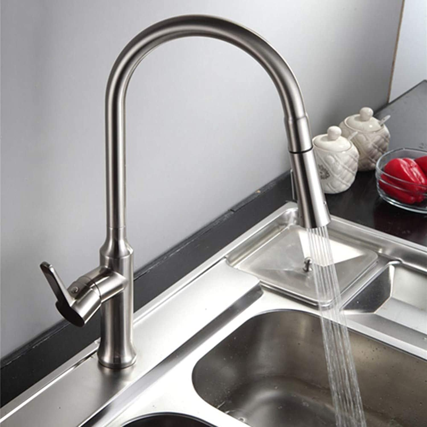 Janitorial & Sanitation Supplies Color : Silver Uzanesx Copper Chrome Bath Water Quality Floor Type Faucet