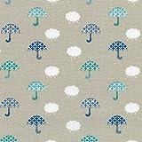 Textiles français Baumwollstoff | Nimm deinen Regenschirm