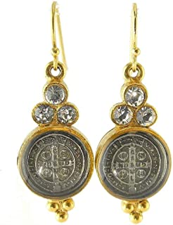 San Benito Lucia Earrings in Gold