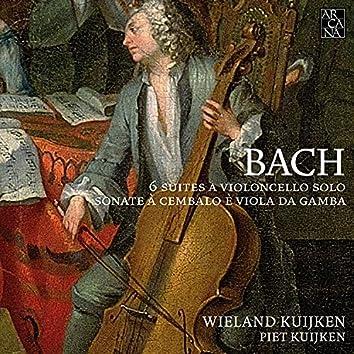 Bach: 6 suites a violoncello solo & Sonate à cembalo è viola da gamba
