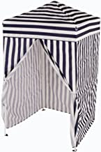 Impact Canopy 4' x 4' Portable Dressing Room, Pop Up Portable Changing Room, Navy Blue / White