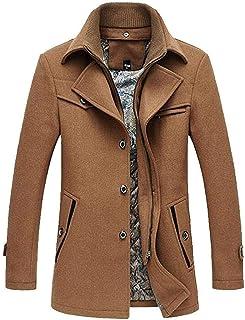 Saoye Fashion Cappotto Invernale da Uomo Giacca Classica da Uomo Cappotti in Giovane Abiti da Festa Lana Cappotto Invernal...