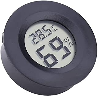 Ashley GAO Ronde Elektronische Thermometer en Hygrometer Binnen Digitale LCD Hygrometer Temperatuur Vochtigheidsmeter