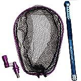 ショアソルト専用ランディングセット BLACK LARCAL 600+ランディングネットL+エボジョイント 3点セット パープル (sip-netset47) (パープル)