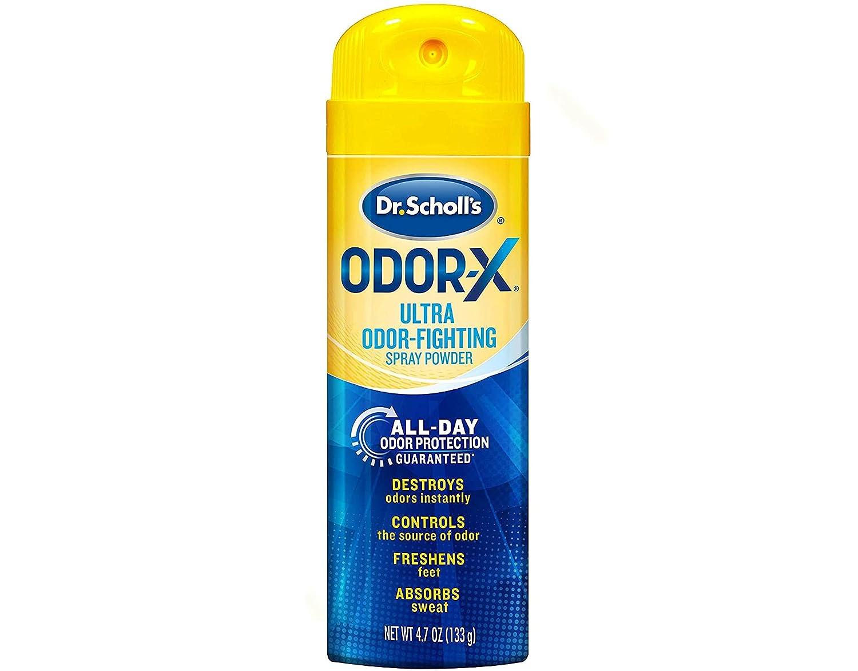 Dr. shipfree Scholl's Odor-X Odor Sacramento Mall Fighting Spray 4.70 oz Pack Powder of