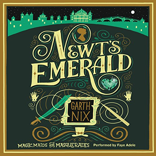 Newt's Emerald audiobook cover art