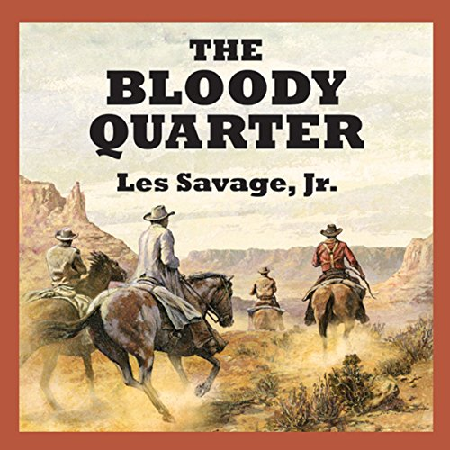 The Bloody Quarter audiobook cover art