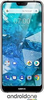"Nokia 7.1 - Android 9.0 Pie - 64 GB - Dual Camera - Dual SIM Unlocked Smartphone (Verizon/AT&T/T-Mobile/MetroPCS/Cricket/H2O) - 5.84"" FHD+ HDR Screen - Steel - U.S. Warranty, TA-1085 S"