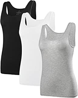 Best white wide strap tank top Reviews