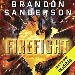 Firefight     The Reckoners, Book 2              By:                                                                                                                                 Brandon Sanderson                               Narrated by:                                                                                                                                 MacLeod Andrews                      Length: 12 hrs and 5 mins     22,646 ratings     Overall 4.7