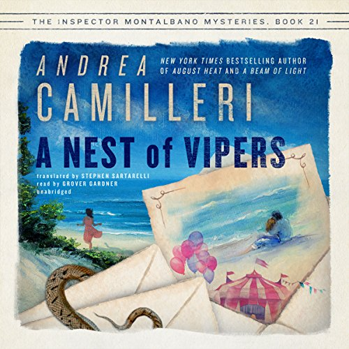 A Nest of Vipers Audiobook By Andrea Camilleri,                                                                                        Stephen Sartarelli - translator cover art