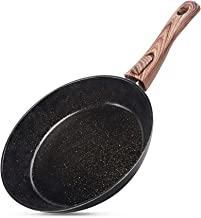 10 inch Nonstick Frying Pan, Cyrret Skillet Fry Pan with Comfortable Bakelite Handle Ceramic Nonstick Coating Omelette Fry...